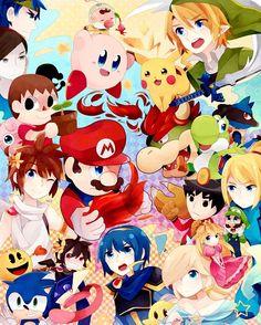 Super Smash Bros.   page 3 of 18 - Zerochan Anime Image Board Mobile