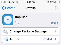 awesome Impulse lets you control the music playing on your iPhone while it is locked