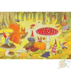 A (slightly) spooky Halloween circle-time Wild Animals Pictures, Animal Pictures, Illustrations, Illustration Art, Silver Penny, Waldorf Toys, Waldorf Preschool, Waldorf Kindergarten, All Souls Day