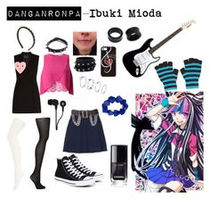 """Danganronpa - Ibuki Mioda"" by animeloverforlife528 ❤ liked on Polyvore featuring BCBGMAXAZRIA, ban.do, Burberry, Miss Selfridge, SPANX, Charlotte Russe, WithChic, John Lewis, Converse and Magid"