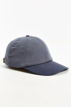 Rosin Linen Contrast Baseball Hat