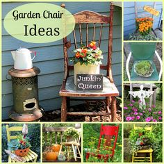 Garden Chair Ideas - add some art to your garden!