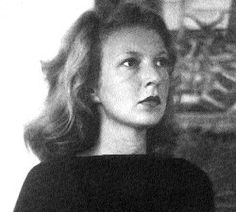 Martha Gellhorn--fine war correspondent and one of Ernest Hemingway's wives. She is the only woman to have divorced him, instead of his usual pattern of divorcing them.