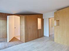 Appartement à Sceaux, réaménagement de 85 m2 par h2o architectes - Journal du Design