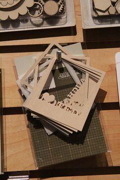 Die cut frames from Studio Calico