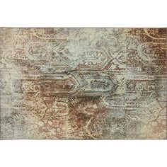 Primordial Rust Area Rug Collection - Jerome's Furniture