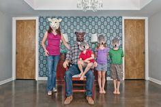 keep austin('s family portraits) weird