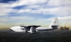 Авиации цифровое искусство - Хьюз H-4 Геркулес Питера Chilelli