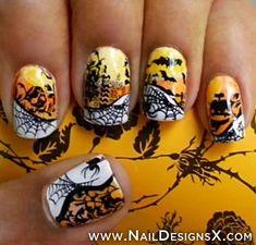 halloween nail » Nail Designs & Nail Art