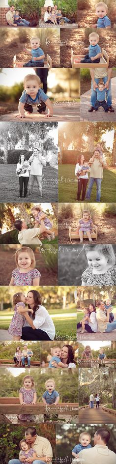 Family portrait storyboard.  Lifestyle portraits.  http://fancifulphotography.com