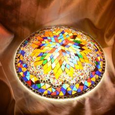 Turkish Handmade Mosaic Wall Lamp | Turkish Mosaic Lamp, Handmade Mosaic Lamp,