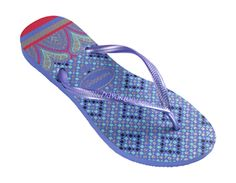 Fun shapes, cool colors, unbeatable comfort.  With its Turkish inspiration, the prisma line is what Havaianas is all about!