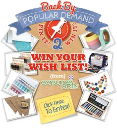 Our First Pin It! Contest Was So Popular, We Are Doing It Again! Enter to Win Today.