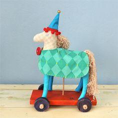 Koník Palomíno - autorská hračka