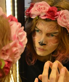 the mirror mask | #flowergirl normaearts <3  make up & photo @danaiden82