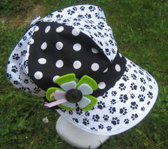 casquette gavroche femme noire blanche : Chapeau, bonnet par margeolu-ellin-s