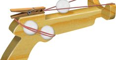 """Ping-Pong Gun Patterns   """"Abreeze to make!""""      They make GREAT for gifts!   And, a sure win at Crafts Shows.      Give them ..."""