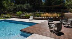 Réaménagement d'un espace piscine en restanque - Morvant & Moingeon