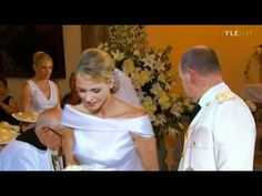 Prince Albert II and Princess Charlene of Monaco leaving the Bouquet  at St. Devote Church, Monaco,after the Wedding 2.7.2011