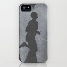 Marathon Man Poster iPhone Case by HeyTrutt - $35.00