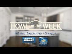 """Home of the Week"" brings us back to the Windy City, as we tour an elegant, warm and charming new construction on one of Lincoln Park's most desirable streets."