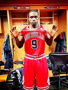 Luol Deng Los Bulls jersey Noche Latina #NocheLatina