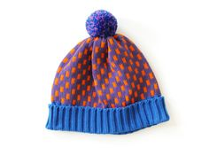 All Knitwear hat. Made by Annie Larson in her Brooklyn studio in the US.