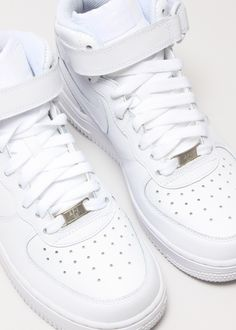 The unbeatable Nike AF1, I want black and white high tops and low tops! Every combo you wouldn't need any other footwear!>>>>>>>>They go with absolutely everythinggggggg
