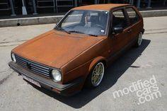 Volkswagen Golf Mk2   Ciney Tuning 2012 Pictures