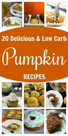 20 Delicious Low-Carb Pumpkin Recipes for Fall Low Carb Sweets, Low Carb Desserts, Low Carb Recipes, Ketogenic Desserts, Pumpkin Recipes, Fall Recipes, Stew Chicken Recipe, Keto Friendly Desserts, Healthy Comfort Food