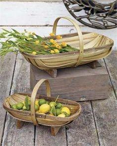 trug baskets - Bing Images