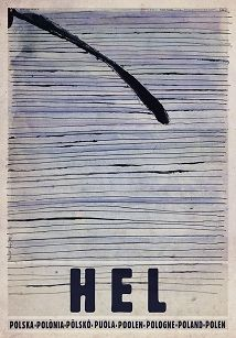 Ryszard Kaja - Hel, Pólwysep Helski, plakat turystyczny
