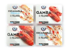 Gamba de Palamós - The Dieline - The #1 Package Design Website -