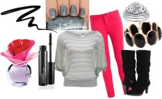 """Pink girl"" by flop-1 on Polyvore"