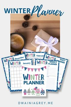 Keep your family organized by planning your family's winter activities. This colorful planner for kids and the whole family to use to plan your winter vacation. Buy Now! #winterplanner Kids Planner, Weekly Planner, Family Organizer, Color Calibration, Winter Activities, Etsy App, Journal Pages, Sell On Etsy, Marketing And Advertising