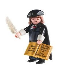 Playmobil-Sonderfigur Martin Luther ist erfolgreichste Einzelfigur von geobra Brandstätter
