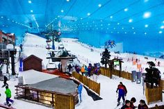 Ski Dubai. Indoor skiing & snow sports! Twas a lot of fun!