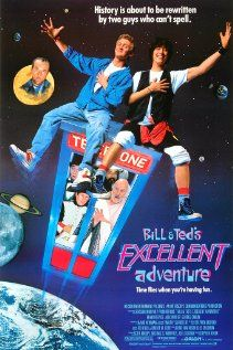 Bill and Teds Excellent Adventure - Two seemingly dumb teens struggle to prepare a historical presentation with the help of a time machine. (IMDB)