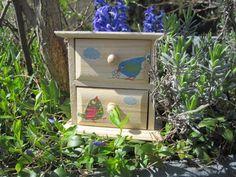 Schmuckkästchen - Schmuckkästchen Vögelchen KCA 37 - ein Designerstück von Behrenperlen bei DaWanda