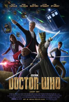Doctor Who - 'Guardians of the Galaxy' by Mecha-Potato-Alex.deviantart.com on @deviantART