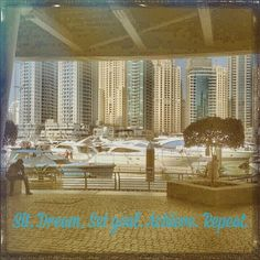 Sit. Dream. Set Goal. Achieve. Repeat.  Often sit here at the Dubai Marina Yacht Club dreaming  about owning a yacht . I don't have a yacht yet but I do have goals - and I achieve them - and each one takes me closer. Maybe only a little step forward but all that matters is it's forward   #lifegoals #worlddomination #dreams  #dubai  #mydubailife  #expat  #dubaiblogger #dubaibloggers  #uae  #uaeblogger #uaebloggers  #igersdubai  #inspiration  #travelblogger #travelbloggers  #blogger  #travel…