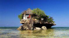 Restauracja w Zanzibarze – na środku Oceanu Indyjskiego