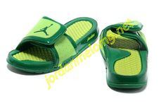 a59ff803fe243c Air Jordan Hydro 2 Slide Slides Sandals Sandals Green Volt Jordans For Men