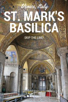 Done been here!! St. Mark's Basilica - Venice, Italy. Skip the line!