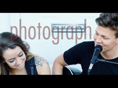 Ed Sheeran - Photograph - Tyler Ward & Anna Clendening (Acoustic Cover) - Official Music Video - YouTube