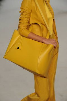 Yellow Akris.