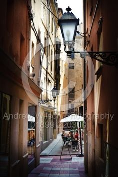 A cafe in every corner in Figueres, Spain