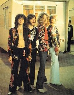 Led Zeppelin, oh how I love you guys and your crazy 70s styles.