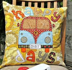Campervan cushion  £18.00