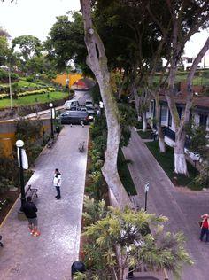 Desde el Puente de los Suspiros, Barranco, Lima